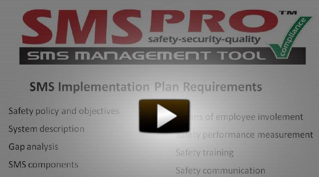 SMS Pro Implementation Plan Manager Video